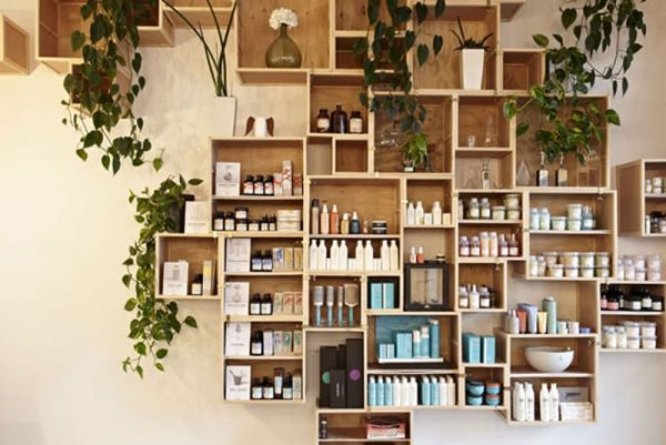 Box units #shopping #space #davines