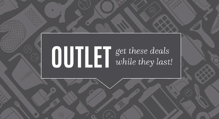 The Pampered Chef Outlet has been updated!  It's a great place for you to shop…