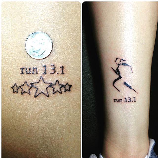Best 25+ Half Marathon Tattoo Ideas On Pinterest