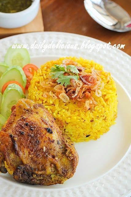 Happy Cooking with LG SolarDom: Chicken Biryani with green chutney
