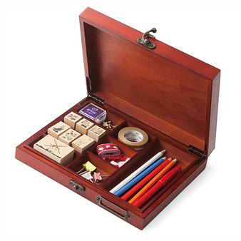 私のお気に入りを大切にしまう アンティーク風 コレクションボックスの会