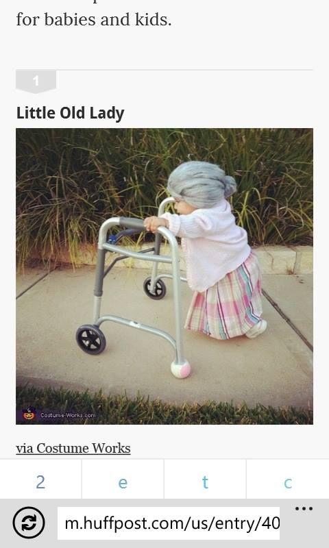 Cute Halloween costume idea!