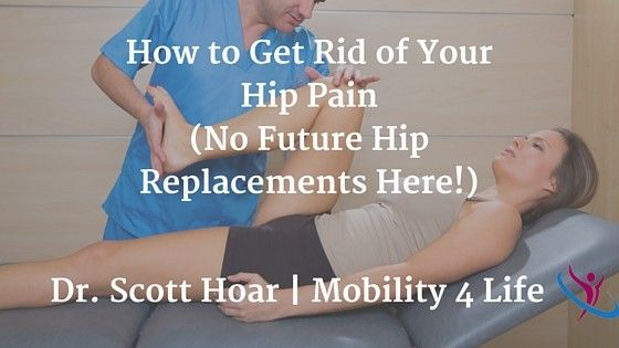 Dr. Scott Hoar of Mobility 4 Life Chiropractic and Sports Medicine describes common hip pain conditions like hip impingement, sciatica, arthritis, etc and provides physiotherapy exercises to help your injury and avoid hip replacement.