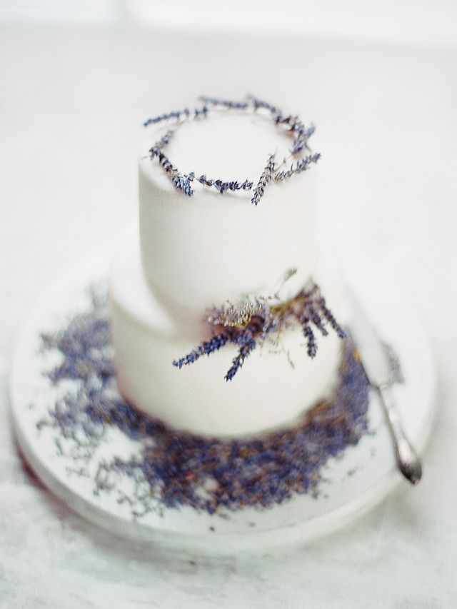 Lavender wedding cake | Ksenia Milushkina Photography | see more on: http://burnettsboards.com/2014/07/editorial-beautiful-trends-floral-design/