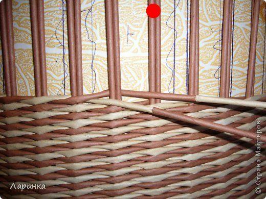 Поделка изделие Плетение Ответ на вопросы или маленький МК Трубочки бумажные фото 5
