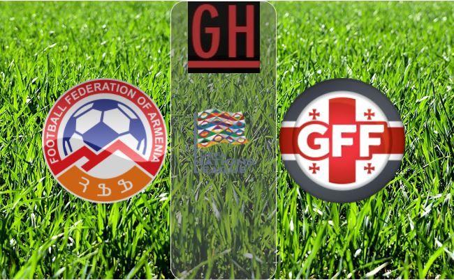 Armenia Vs Georgia Uefa Nations League Video Highlights Armenia Soccer Highlights Georgia