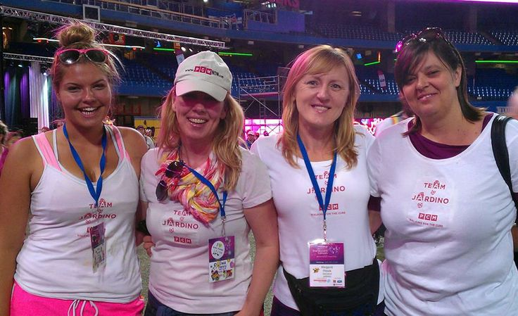 Team Jardino Supports The 2013 Toronto Weekend to End Women's Cancers!