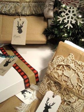 regalos papel kraft