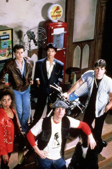 One of my favorite old shows - 21 Jump Street, the original TV show — a dramatic police procedural that aired from 1987 to 1991, starring Johnny Depp in a breakout role.