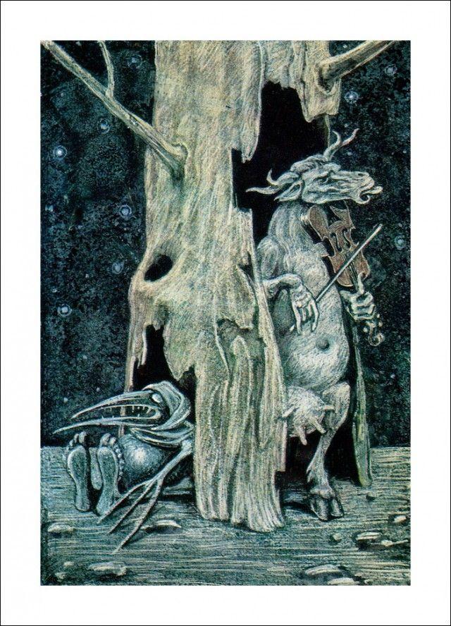 "Henrik Ibsen 'Peer Gynt', ""Act II"" by Савва Бродский"