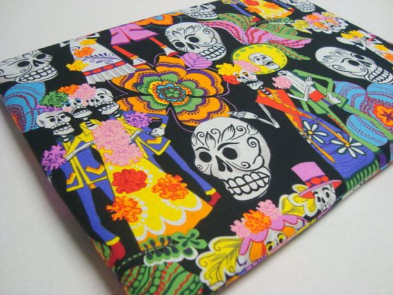 Day of the Dead Laptop Sleeve / 15 inch by funtasticsleeves, $26.99