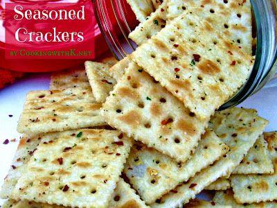 Red Pepper Ranch Seasoned Crackers
