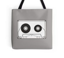 Black cassette 7 Tote Bag