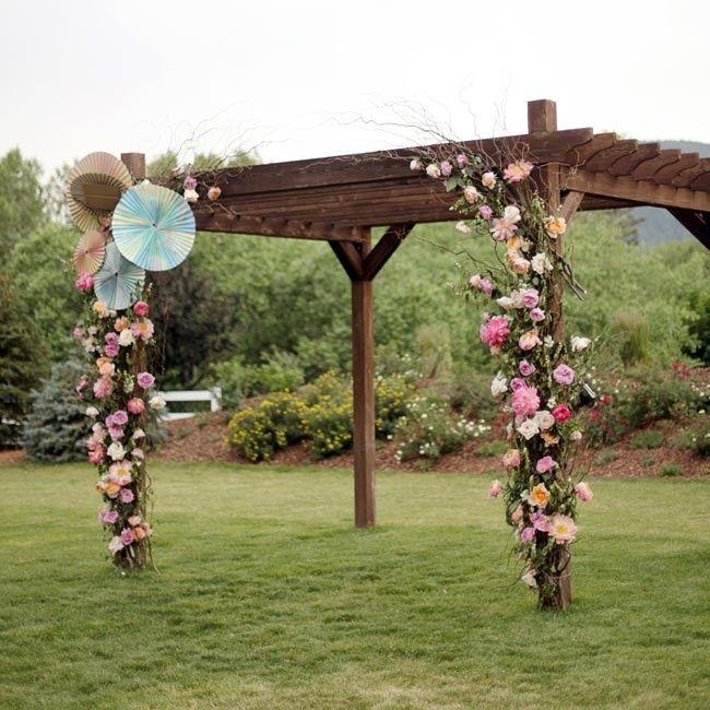 Diy Wedding Arch Ideas Circle: Best 25+ Wedding Pergola Ideas On Pinterest