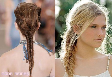 Peinados y mas Peinados: Cómo hacer trenzas a la moda 2011
