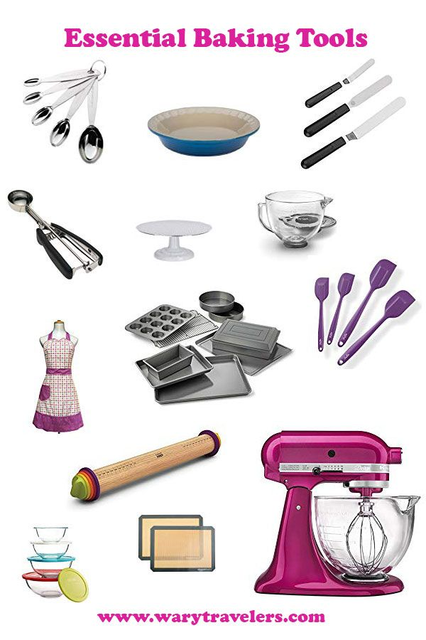 Must Have Baking Tools Tools Every Home Baker Should Own Baking Tools Baking Essentials Tools Baking Gadgets