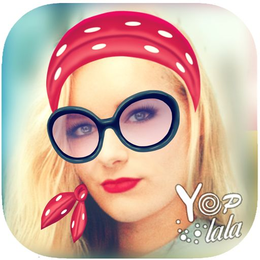 Retro filters with Yoplala app on mobile phones. Snapchat like filters AR live preview on camera. Geofilters and lenses.