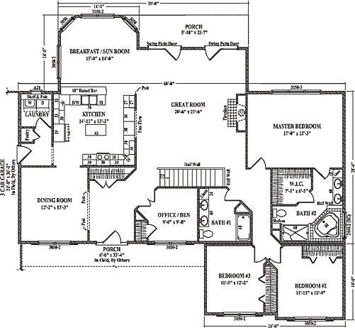 228 best house plans images on pinterest house floor for Schumacher homes catawba