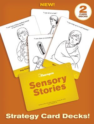 Images of Sensory Stories Strategy Card Decks: 65 Strategies to Add to Your Sensory Diet