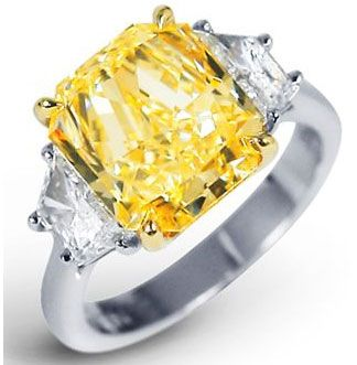 yellow diamond engagement rings | Fancy Yellow and Colored Diamond Engagement Rings Specialists Fine ...