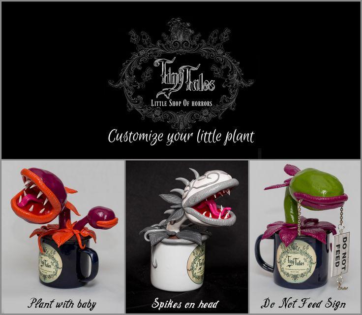 Tiny Tales - Little Shop of Horrors Carnivorous Plants www.facebook.com/TinyTalesSA/