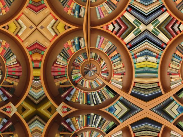 """""""The Library of Babel as Seen from Within"""" 