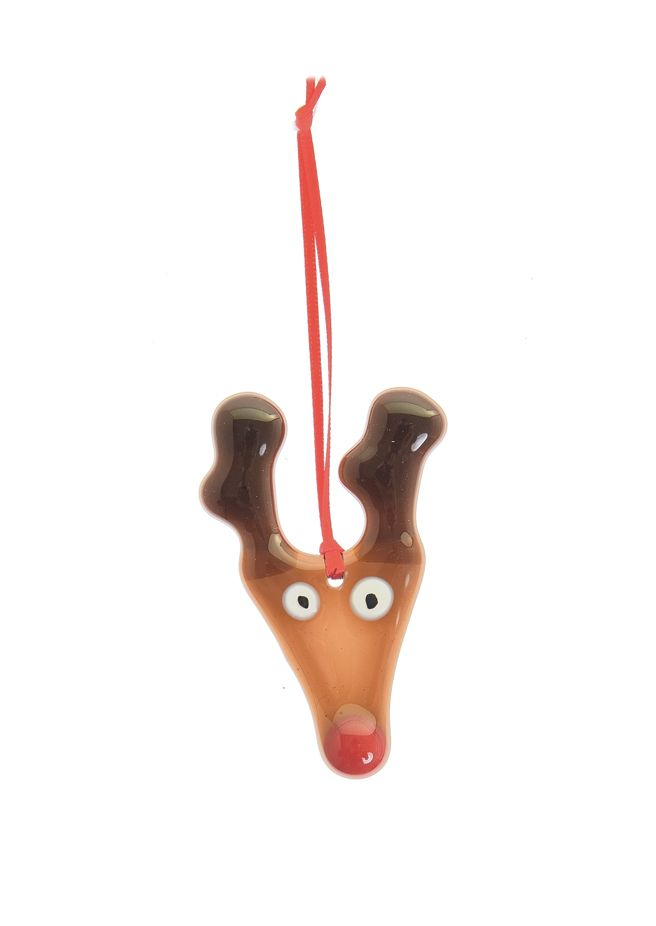Brown reindeer Christmas tree decoration £5.50