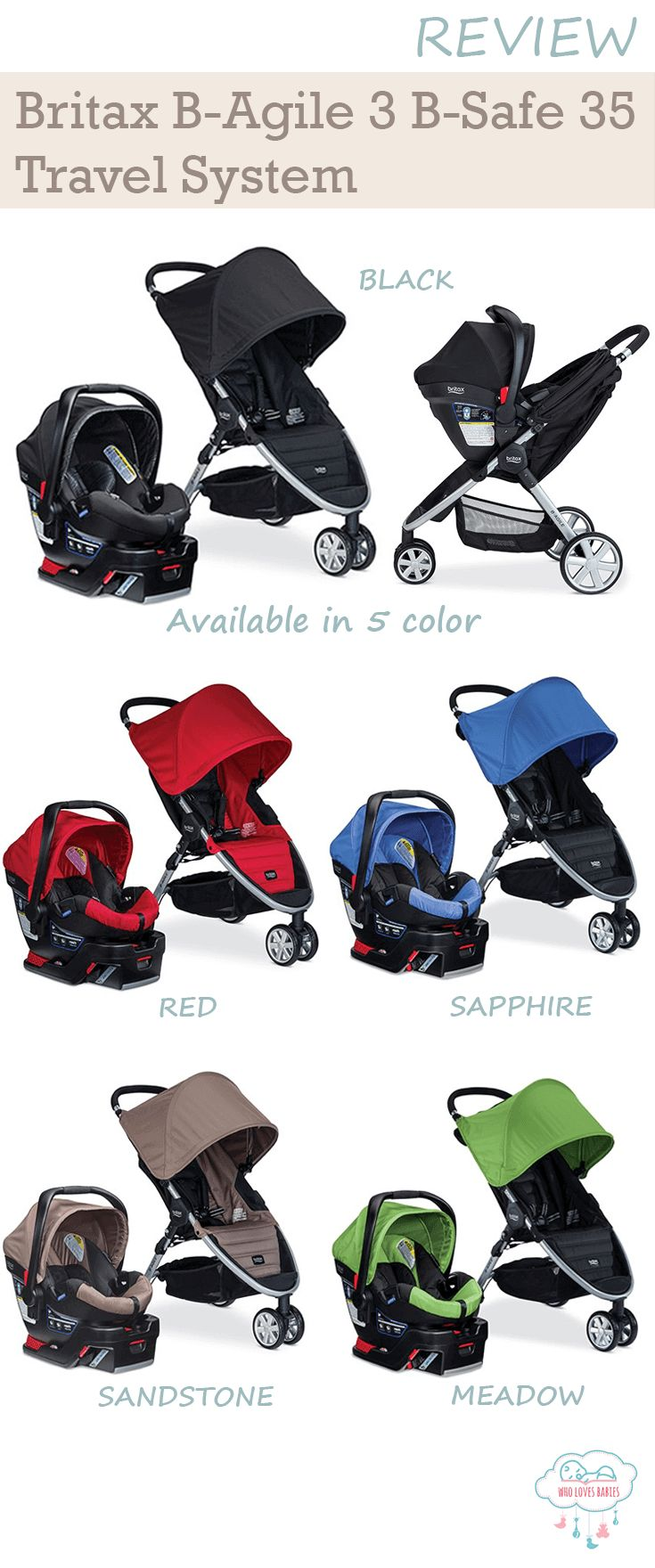 Britax Travel System Color Options