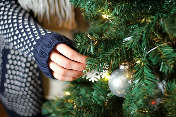 Weihnachtsbaum schmücken Blogger