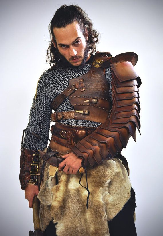 Roman Manica, Arm Bracer, leather Bracer, leather armor, armor bracer, larp bracer, Steampunk arm bracer, viking bracer, wedding medieval