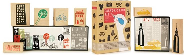 New arrivals! Assorted stamps and stamp making kits!