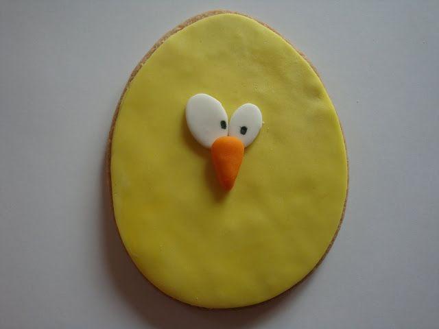 Himmelske kager: Påske cookies