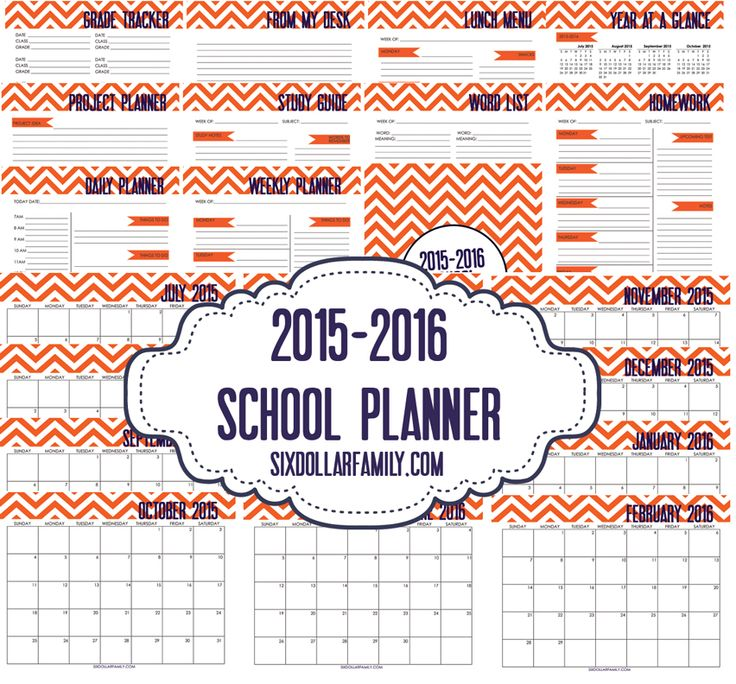 Keeping your kids organized is a HUGE help to their success in school. This printable student planner is sure to do just that! 23 pages and FREE for a limited time!