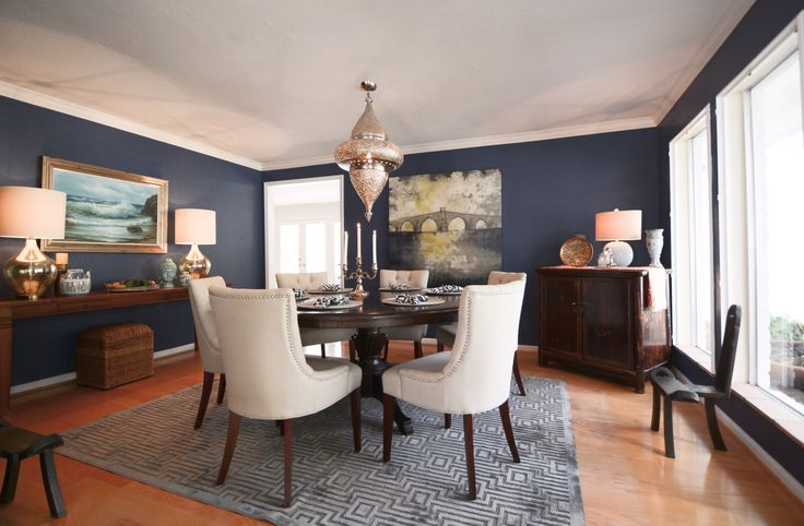17 Best Images About Dining Room On Pinterest Hale Navy