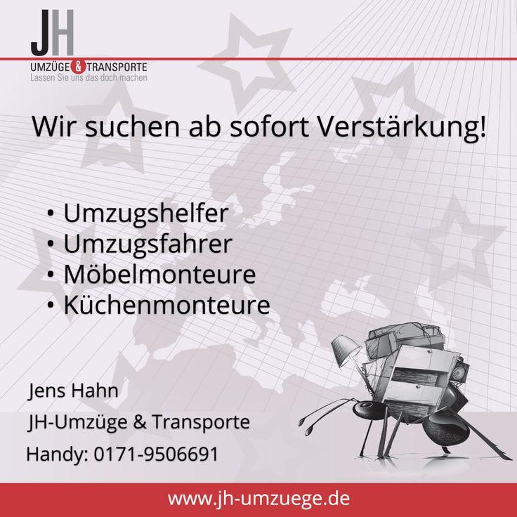 Wir suchen ab sofort Verstärkung! #Umzug #Umzugshelfer #Möbelmonteure #Küchenmonteure #Halle #Leuna #Merseburg #Leipzig