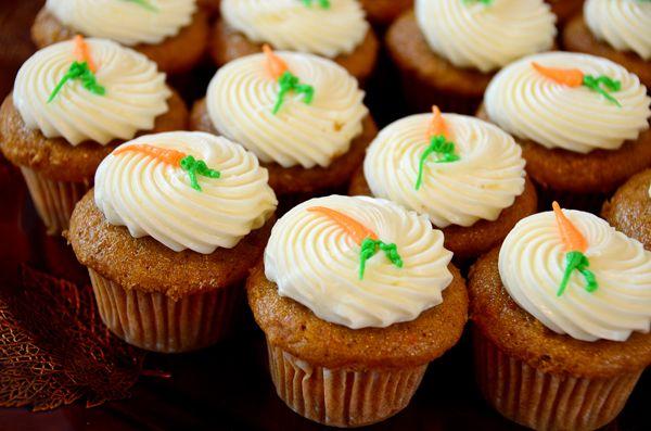 Cupcakes καρότου