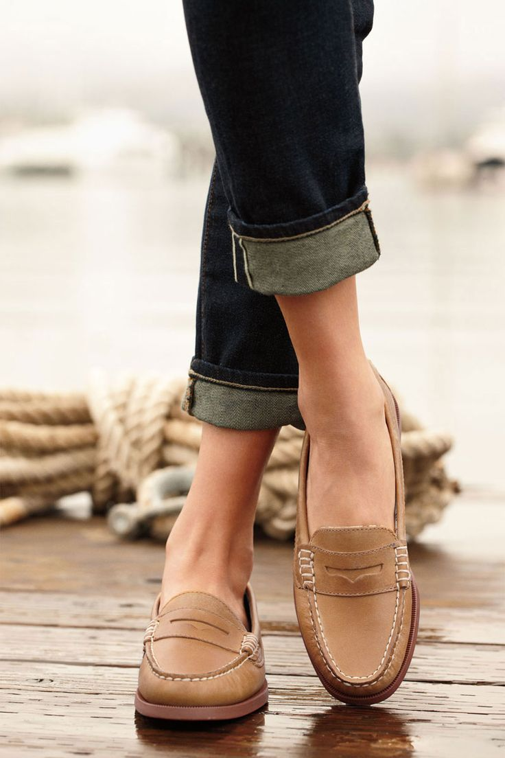 Sperry Top-Sider Women's Hayden Penny Loafer.  Kind of crushing on loafers for Spring right now....