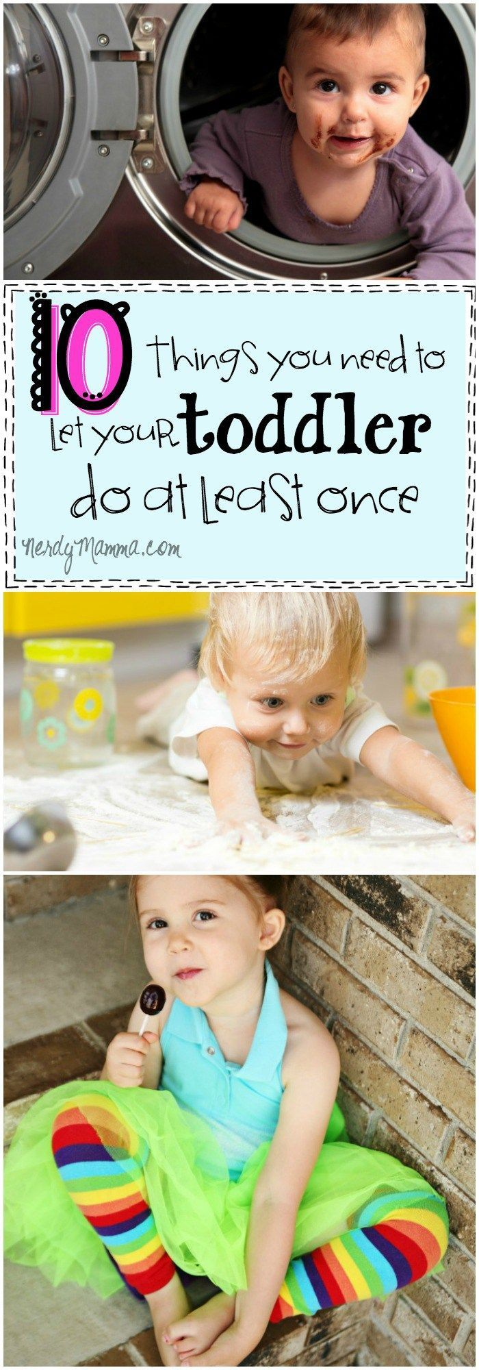 These 10 Things You Need to Let Your Toddler Do at Least Once is so SPOT ON! I think all the little kids should just be allowed to be themselves sometimes.