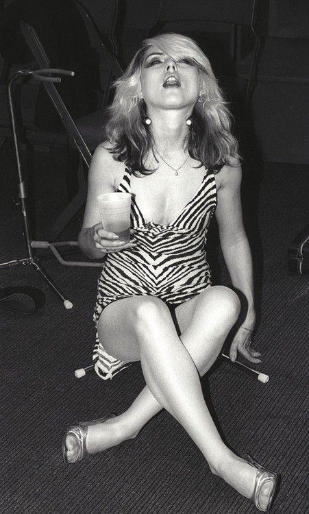 Blondie: Debbie Harry by Martin Goddard, 1978