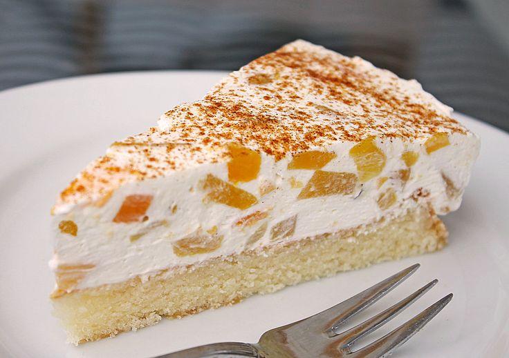 Geheime Rezepte: Pfirsich-Schmand-Kuchen (leichtere Version, ohne Fanta, trotzdem lecker)