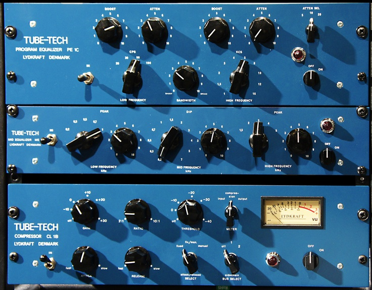 @SoftubeStudios TubeTech classic ch. My vocals/ac.gtr creamy heaven!