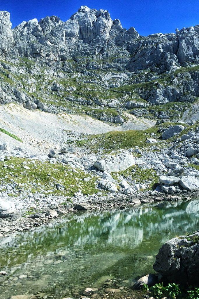 Beautiful glacial lakes in Durmitor National Park, Montenegro in the Balkans
