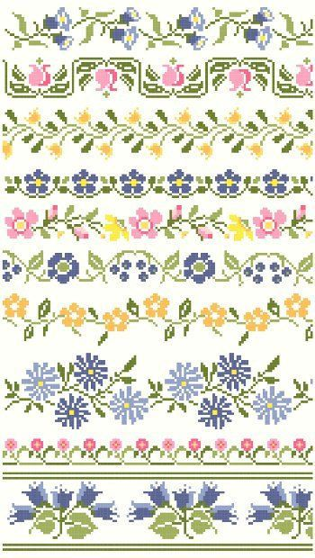 "Vintage Floral Cross Stitch Borders Pattern by blackphoebedesigns [   ""is a free, personal email service from Microsoft. Keep your inbox clutter-free with powerful organizational tools, and collaborate easily with OneDrive and Office Online integration."",   ""Ten decorative borders inspired by vintage textiles feature a variety of flowers in blues, pinks, and yellows. Great for edging linens and"",   ""Browse unique items from blackphoebedesigns on Etsy, a global marketplace of handmade…"