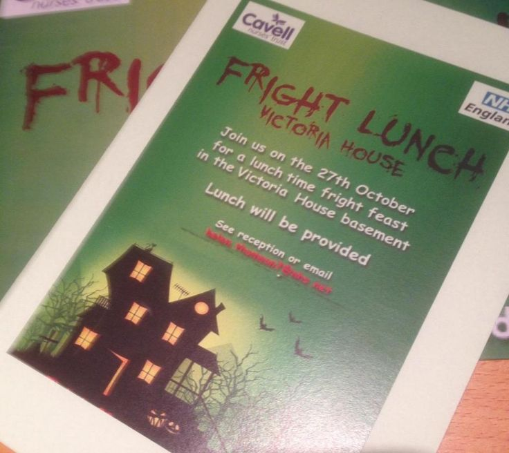 Fright lunch held by Lyn McIntyre, one of our amazing fundraisers and supporters #nursing #turntheworldpurple