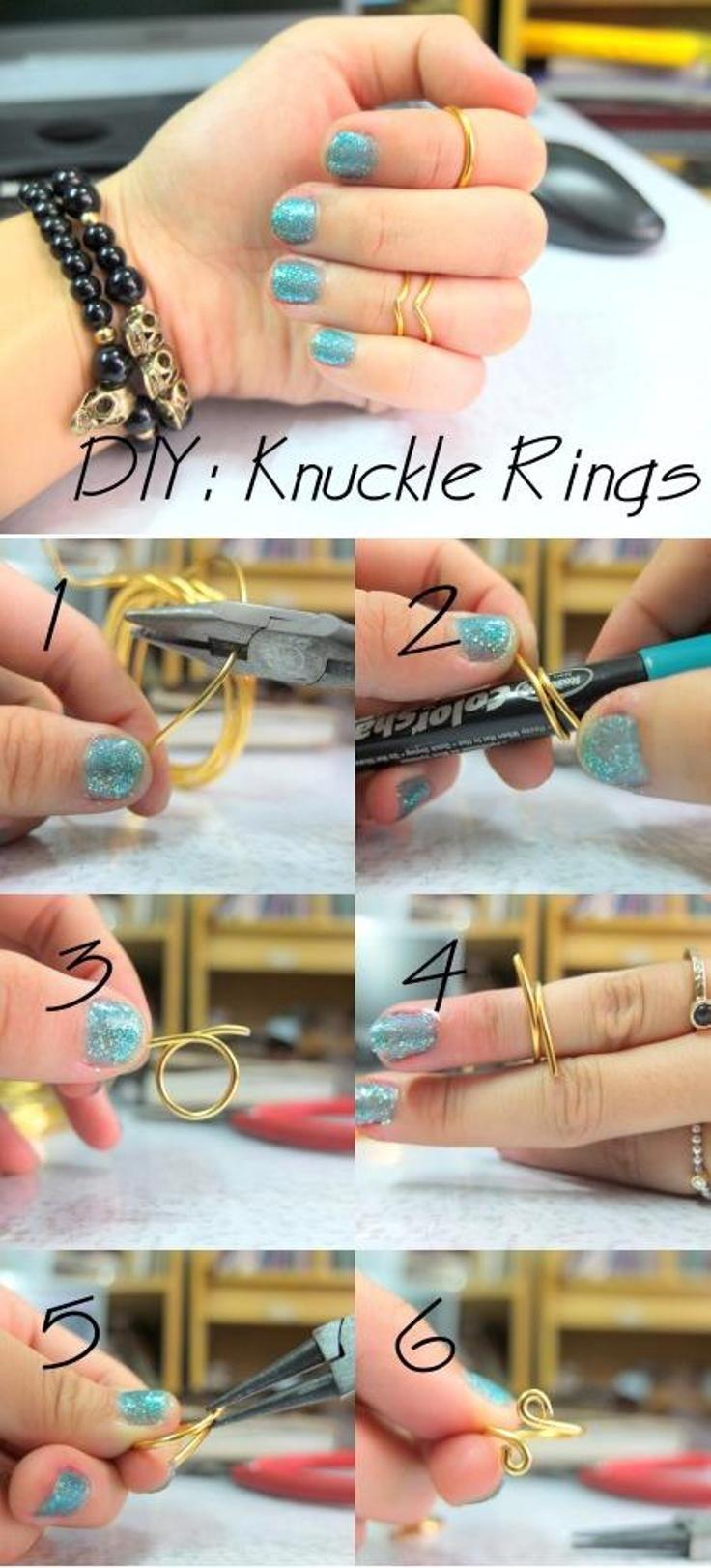 Knuckle Rings ---- Top 10 Best DIY Rings