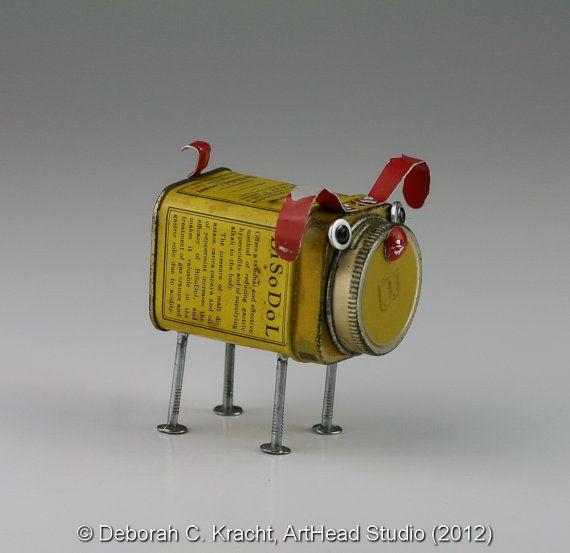 JunkYard Dog BiSoDoL Antacid JYD044 by ArtHeadStudio on Etsy,