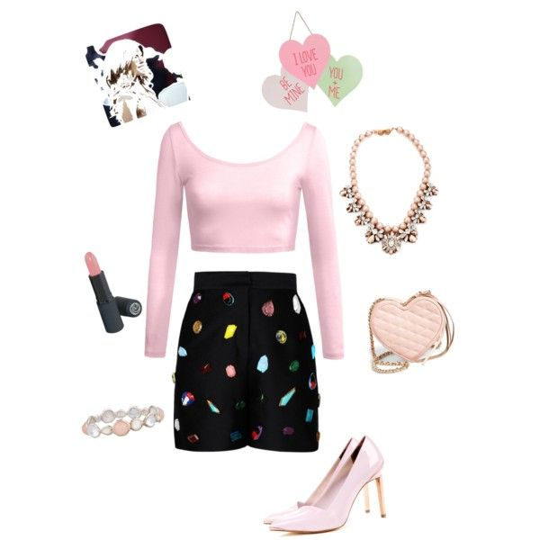 A fashion look from February 2015 featuring STELLA McCARTNEY shorts, Ted Baker pumps and Rebecca Minkoff shoulder bags. Browse and shop related looks.
