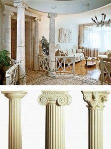 Греческий стиль в интерьере и натяжные потолки. в Магнитогорске | Статьи | Студия натяжных потолков «Аврора»