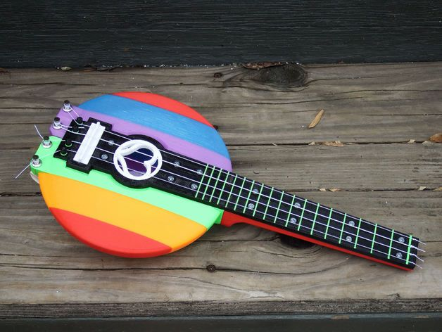 Ukulele by chuckbobuck - Thingiverse