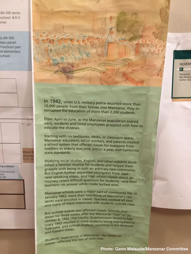 What's New At Manzanar NHS: Classroom Exhibit Is Taking Shape